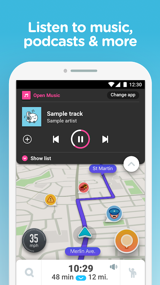 Waze Mod Apk Unlock All - Download For Android